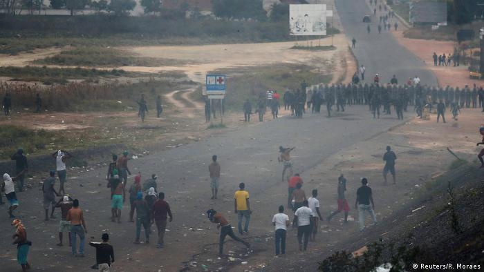 Brasilien Pacaraima Grenze Venezuela Ausschreitungen