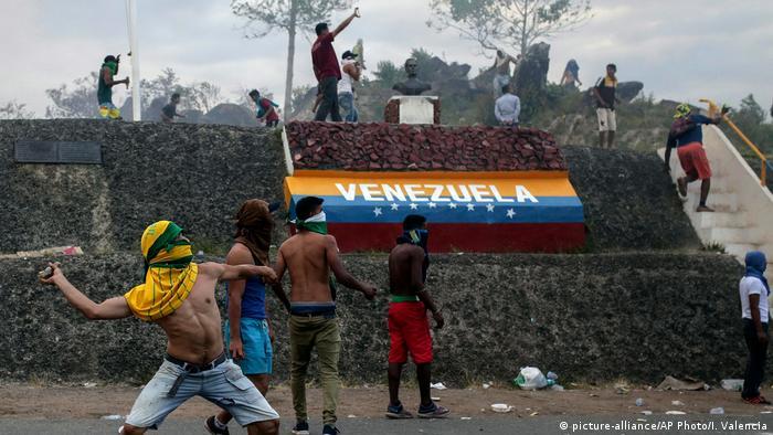 Confrontos na fronteira brasileira