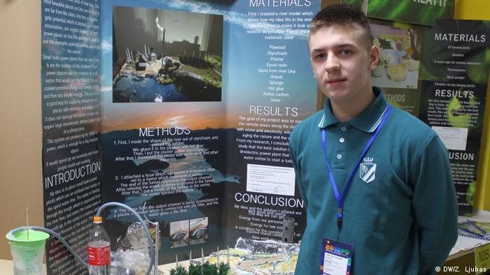 Bosnien und Herzegowina Richmond-Park-Schule in Sarajevo | Ismar from Bihac (DW/Z. Ljubas)