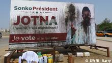 Senegal Präsidentschaftswahlen | Sonko Poster