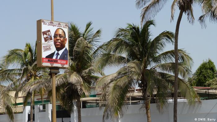 Senegal Präsidentschaftswahlen   Macky Sall Poster