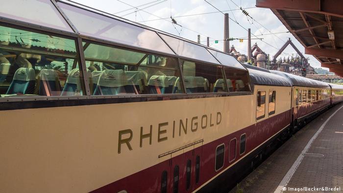 Luxuszug Rheingold (Imago/Becker&Bredel)