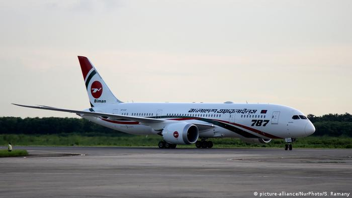 Biman Bangladesh Airlines plane