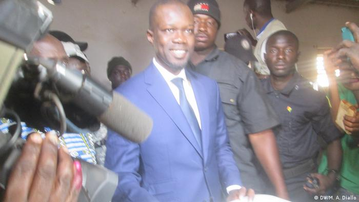 Senegalese politician Ousmane Sonko