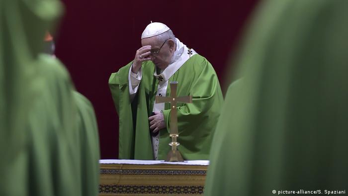 Vatikan Missbrauchsgipfel Papst Franziskus
