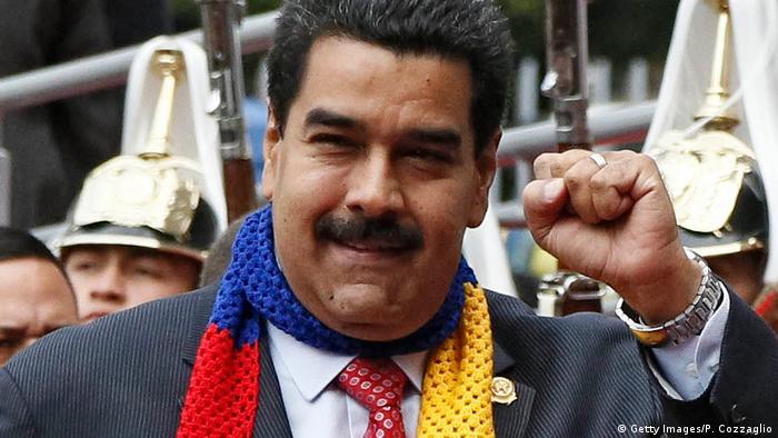 Venezuelan President Nicolas Maduro (Getty Images/P. Cozzaglio)