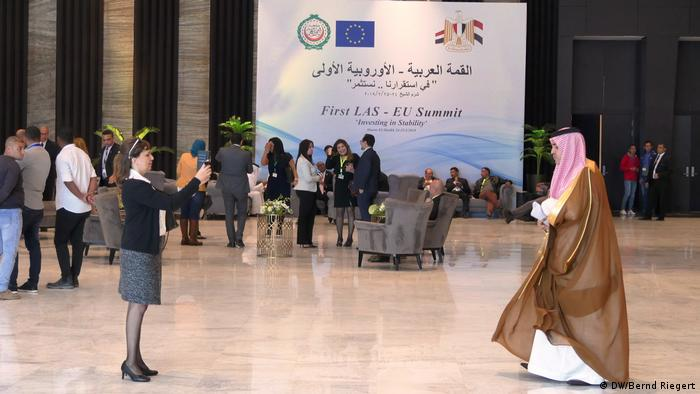 Ägypten Sharm el Sheikh Gipfel von EU und Arabische Liga (DW/Bernd Riegert)