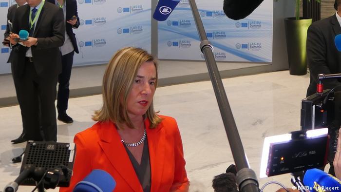 Federica Mogherini in Sharm el Sheikh