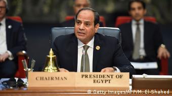 Ägypten Sharm el Sheikh Gipfel von EU und Arabische Liga