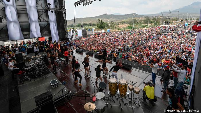 Фестиваль, организованный венесуэльским правительством