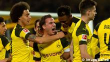 Fußball Bundesliga Borussia Dortmund v Bayer Leverkusen Torjubel 3:1