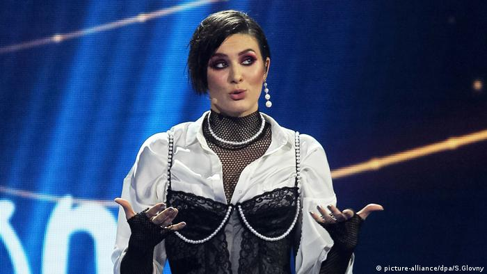 Певица Maruv в финале отборочного конкурса в Украине на Евровидение-2019, 23 февраля 2019 года