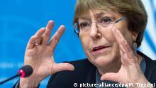 UN-Hochkommissarin Michelle Bachelet