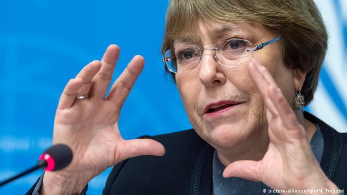 Bachelet: Recuerdo a las autoridades venezolanas que son responsables de la vida, y de la integridad física y psicológica de todas las personas privadas de libertad.
