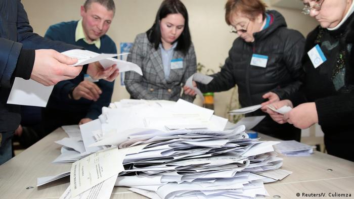 Republik Moldau Parlamentswahlen 2019 | Stimmenauszählung in Chisinau