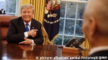 USA Präsident Donald Trump mit Chinas Vize-Premier Liu He