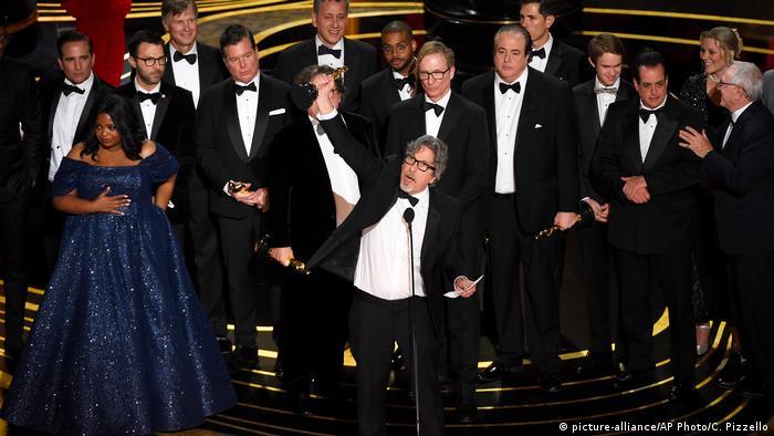 Знімальна група картини Зелена книга на врученні Оскарів