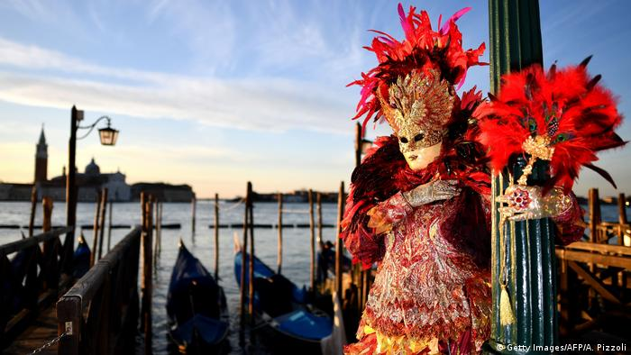 BdTD Karneval in Venedig (Getty Images/AFP/A. Pizzoli)