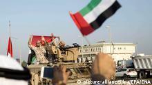 DW Exclusive Deutsche Waffen in Jemen SPERRFRIST 26.02.2019 20 Uhr VAE Soldaten Rückkehr