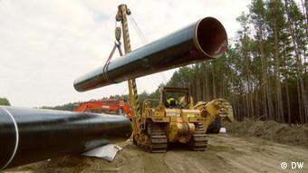 Строительство газопровоода Eugal, 2019 год