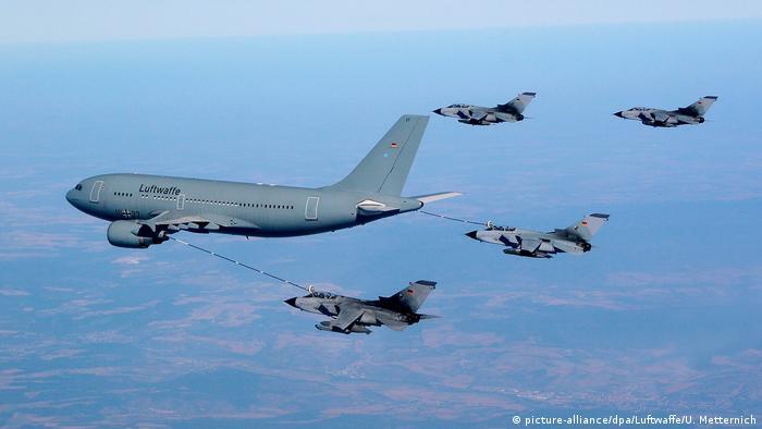 DW Exclusive Deutsche Waffen in Jemen SPERRFRIST 26.02.2019 20 Uhr Tornado-Flugzeuge und Airbus A310 MRTT