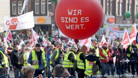 Συνδικάτα και απεργία στη Γερμανία