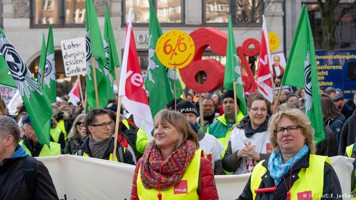 Au total ce sont2,3 millions de salariés du secteur public qui sont appelés à la grève depuis mardi en Allemagne