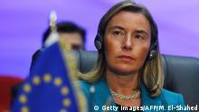 Ägypten Gipfel EU und Arabische Liga in Sharm El Sheikh Mogherini