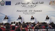 Ägypten Gipfel EU und Arabische Liga in Sharm El Sheikh PK