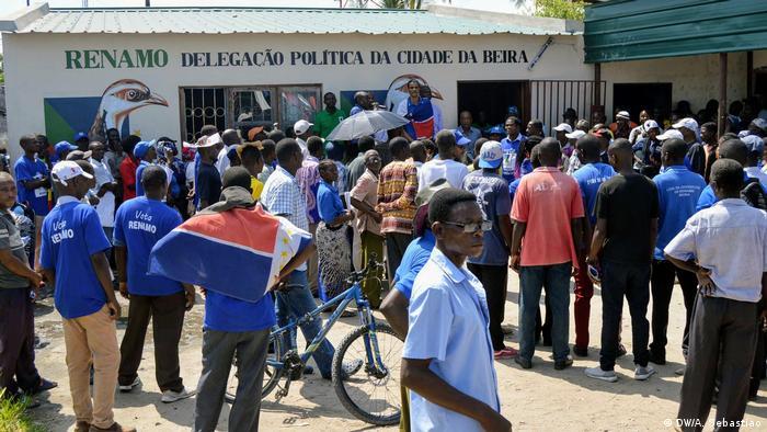 Mosambik Renamo Partei Protest