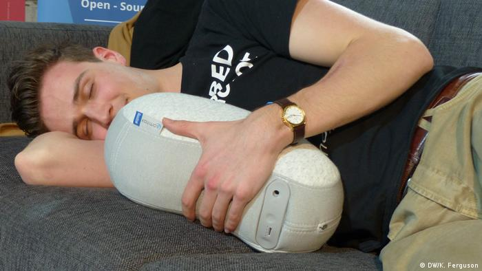 Somnox founder Julian Jagtenberg with his sleep robot