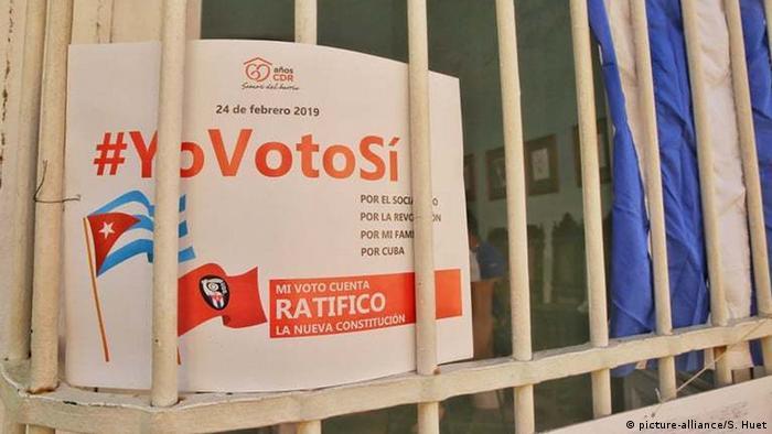 Trinidad, Cuba: Referendum in Cuba (picture-alliance/S. Huet)