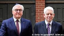 Josef Schuster und Frank-Walter Steinmeier