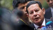 Kolumbien, Bogota: Hamilton Mourao auf dem Lima Treffen