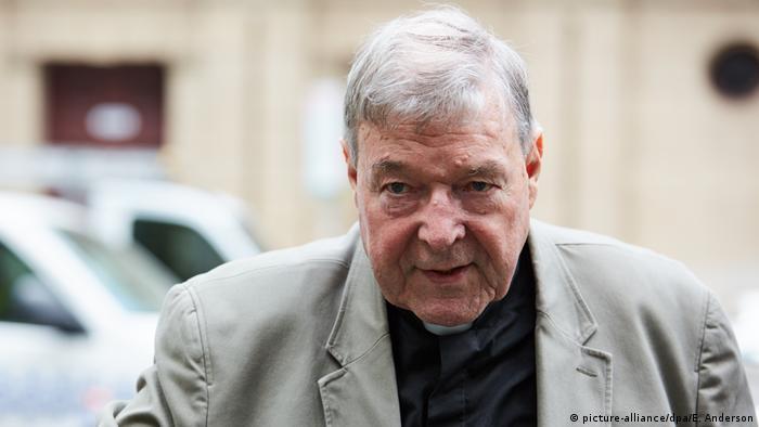 O cardeal australiano George Pell, chefe das finanças do Vaticano