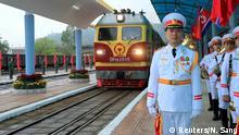 Vietnam, Dong Dang: Staatsbesuch Kim Jong Un