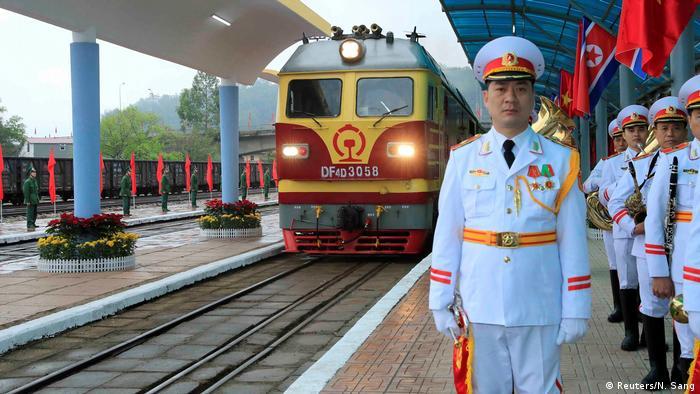 Vietnam, Dong Dang: Staatsbesuch Kim Jong Un (Reuters/N. Sang)