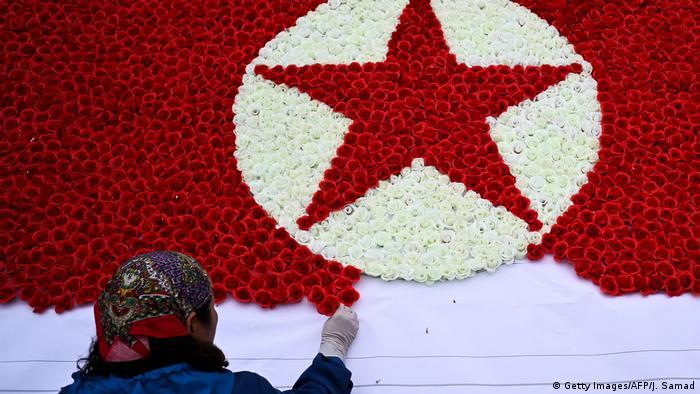 BdTD - Vietnam Besuch Kim Jong Un (Getty Images/AFP/J. Samad)