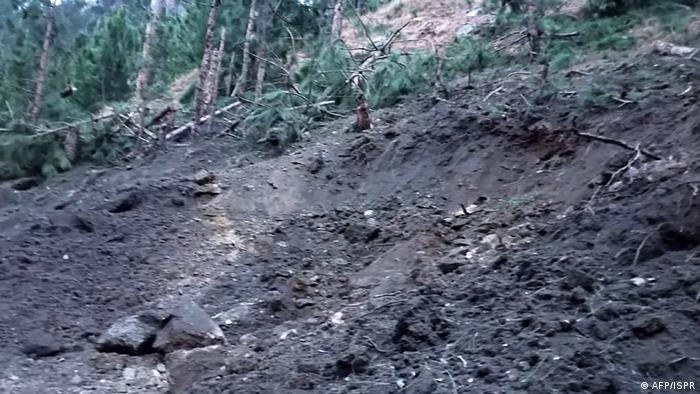 Pakistan - Zerstörung nach Luftangriff der Indischen Armee