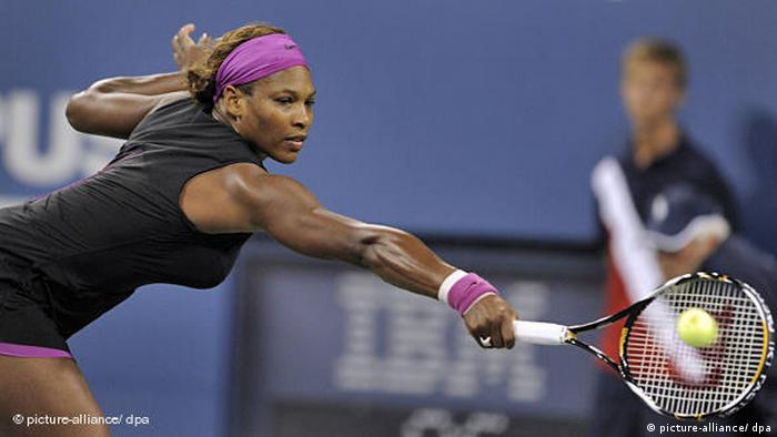 Serena Williams Tennis Flash-Galerie (picture-alliance/ dpa)