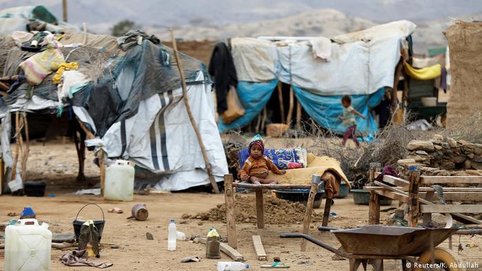 Bildergalerie Jemen Binnenflüchtlinge (Reuters/K. Abdullah)