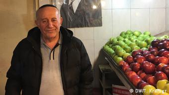Obsthändler Abraham Levy