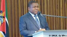 25.02.2019 Filipe Nyusi, Präsident von Mosambik.