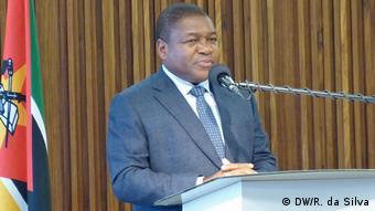 Mosambik Maputo Filipe Nyusi