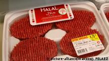Frankreich - Halal