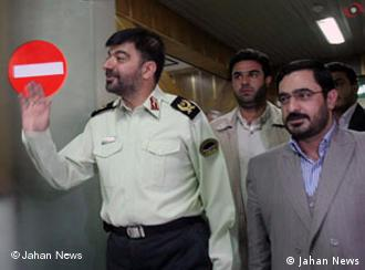 سعید مرتضوی، دادستان پیشین تهران، و  احمدرضا رادان، جانشین فرمانده نیروی انتظامی ایران