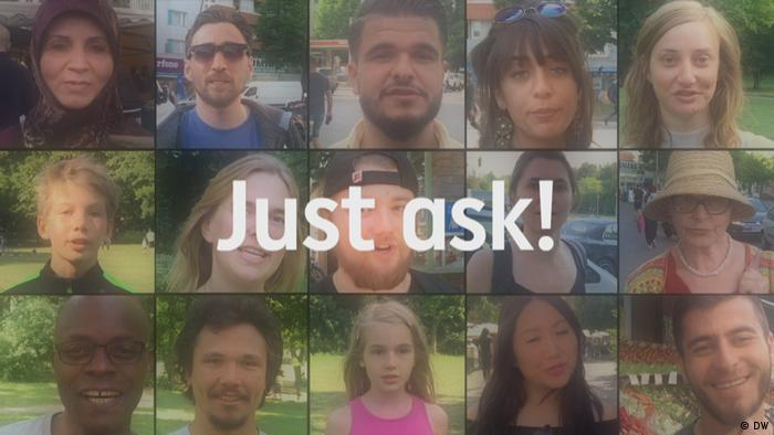 DW Tomorrow Today - Just ask! #justask - TV science show - Ask your science question!