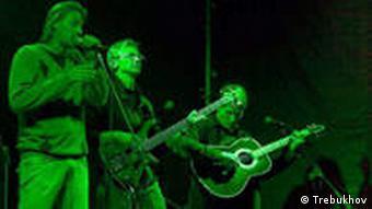 Die ukrainische Band Mertvyj Piven