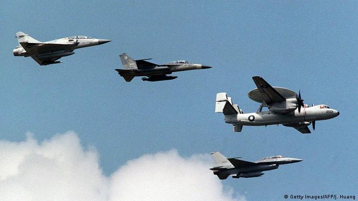 Mirage Kampfflugzeug (Getty Images/AFP/J. Huang)