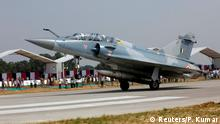 Indien Mirage 2000 Kampfjet in Unnao, Uttar Pradesh